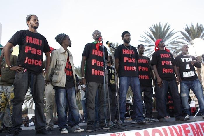 L'homme de l'année de Dakaractu: «Y en a marre»!!!