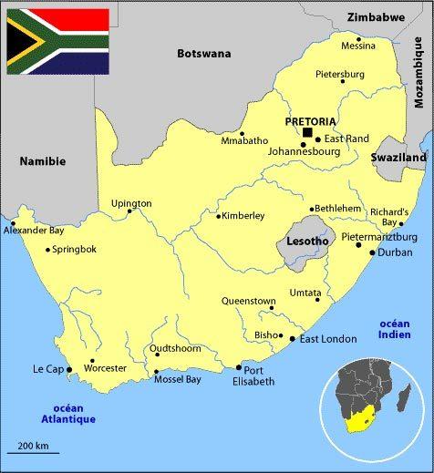 Un sénégalais  du nom d'Elhadji Touré tué par la police sud-africaine