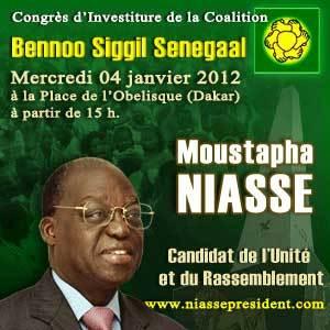 De nombreux opposants au congrès d'investiture de Moustapha Niasse
