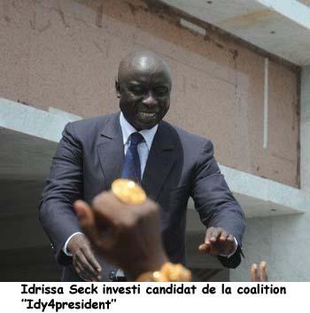"""Idrissa Seck souligne son ambition de """"forger"""" le Sénégal autour de l'éthique et de la morale"""