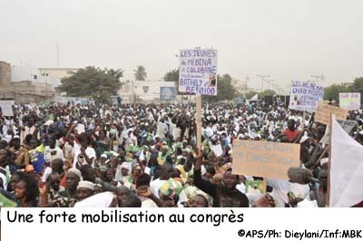 Fortement mobilisés, les partisans de Niasse se montrent confiants