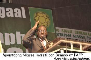 Moustapha Niasse s'engage à redresser l'éthique et la politique du pays