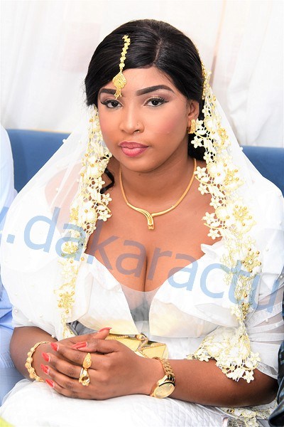 Mariage de Moussa Diop et de Tabara Danfakha à Sacré-Coeur (IMAGES)