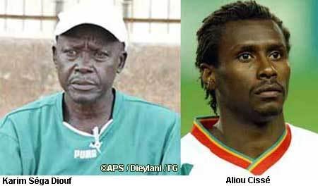 La sélection olymique confiée à Karim Séga Diouf et Aliou Cissé