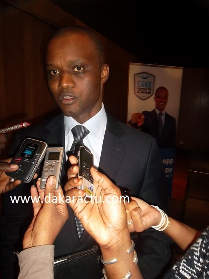Abdourahmane Sarr, un nouveau candidat à la présidentielle de 2012.