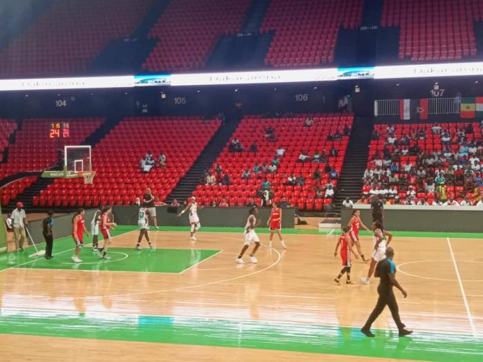 """Basket / Tournoi international de Dakar : Les """"Lionnes"""" dominent l'Égypte 100 à 58, et réussissent la passe de trois"""