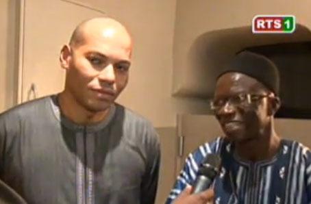 Dernière minute: Karim Wade a rendu visite cet après-midi à l'imam Youssouph Sarr de Guédiawaye