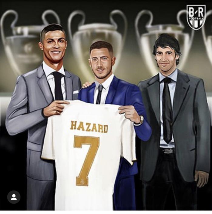 Real Madrid : Eden Hazard portera le légendaire numéro « 7 »
