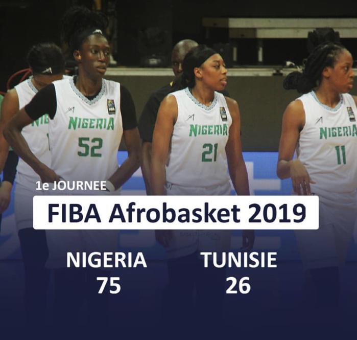 Afrobasket féminin : Le Nigeria bat facilement la Tunisie (75-26) en match d'ouverture.