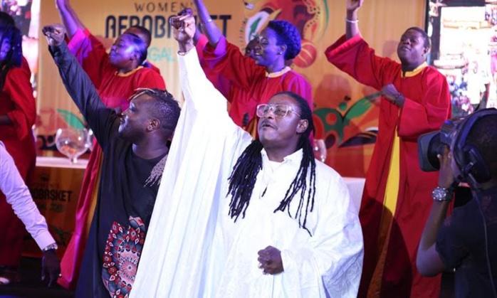 Cérémonie d'ouverture de l'AfroBasket 2019: Didier Awadi va entrer en scène avec le tube «VIVA AFRICA» la chanson officielle.