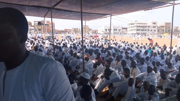 Eid-Al-Kabir à Yoff : Chants religieux et invocations du nom d'Allah avant la prière