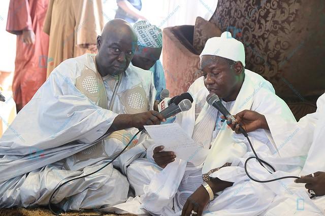 Tabaski : À la mosquée Massalikoul Djinane, l'imam Serigne Moustapha Mbacké a prêché le pardon.