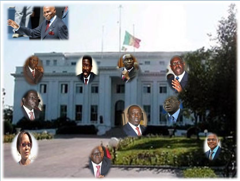 2012 : l'échéquier politique sénégalais (en Bref).