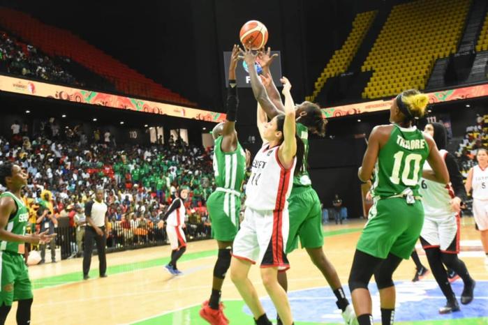Afrobasket féminin / Revivez le match Sénégal - Égypte en images (Temps forts)