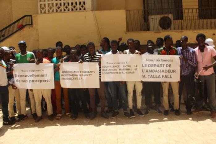 Manifestation des étudiants sénégalais au Caire (Egypte) : La direction des bourses apporte des précisions...