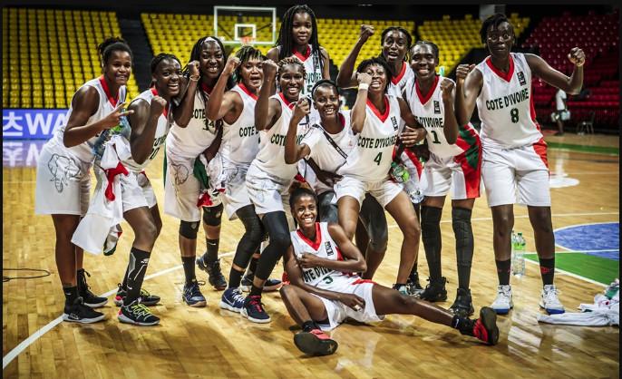 Afrobasket féminin 2019 / Play-Offs : La Côte d'Ivoire rejoint le Mali en 1/4 de finale suite à sa victoire 74-50 sur la Tunisie