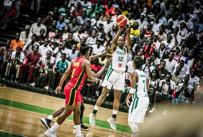 Afrobasket féminin 2019 - 1/4 finale Sénégal – Angola : Les « Lionnes » mènent 41 – 26 à la pause