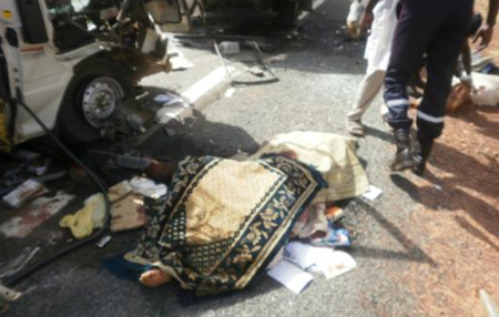 Dernière minute: Accident à Ndangalma, sur la route de Touba