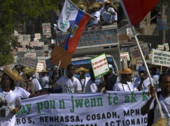 Haïti: il y a deux ans, le terrible tremblement de terre