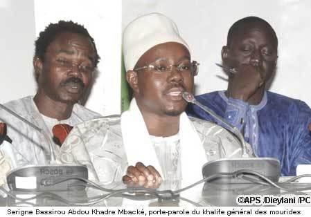 """Serigne Bassirou Abdou Khadre Mbacké: """"Ce pays n'est la propriété de personne"""""""