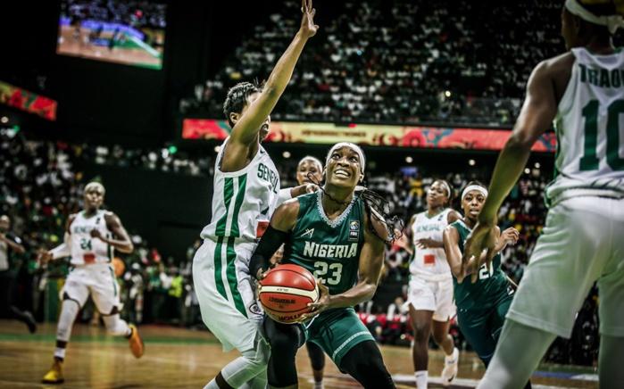 Finale Afrobasket 2019 / Sénégal – Nigeria : Dans un match serré, les « Lionnes » trainent 8 points de retard à la pause (32-24)