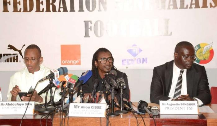 Matches amicaux du mois de Septembre : Aliou Cissé et la FSF décident de ne pas faire jouer les « Lions » (Document)