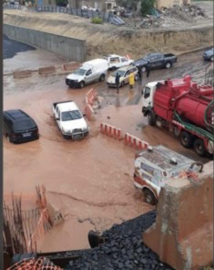 FORTES PLUIES A DAKAR : Le TER des lamentations à la Zac de Mbao.