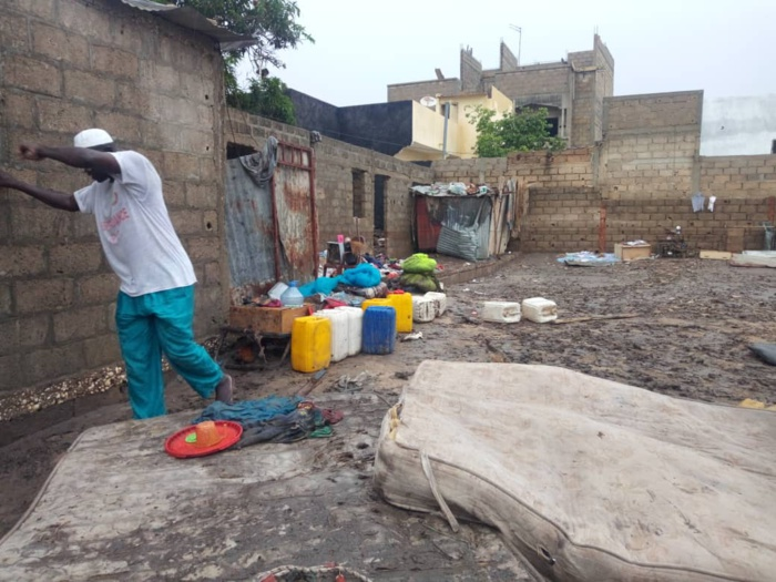 Fortes précipitions sur Dakar et environs : Deux morts à Bambilor et des maisons emportées par des eaux. (Images)