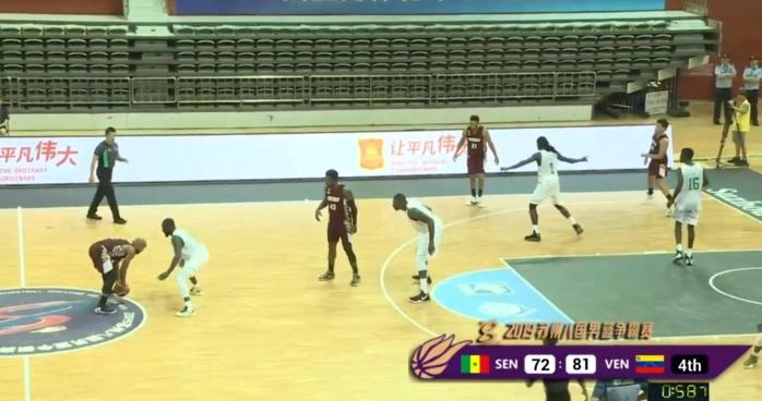 Préparation Mondial basket / Tournoi Atlas Challenge : Le Sénégal perd d'entrée devant le Venezuela (81-74)