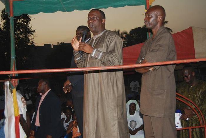 Cheikh Tidiane Gadio, candidat déclaré  à la présidentielle, parle de la caution: «Même un milliard de francs ne saurait être un obstacle absolu.»