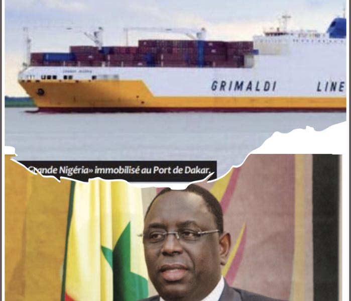 Cocaïne saisie au Port de Dakar : Quand Grimaldi écrit à...Macky Sall