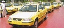 Dernière minute: Les chauffeurs de taxi Sen Iran manifestent leur colère devant les grilles du palais