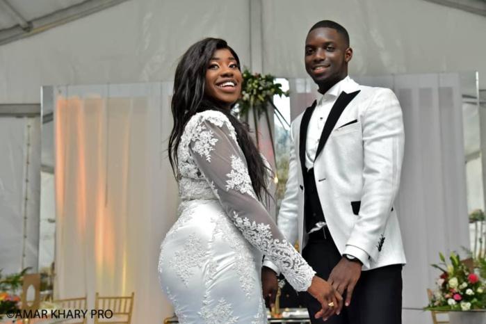 Les Images du Mariage religieux de Ngoné Seck, fille de Cheikh Seck (Président de l'Asc Jaraaf) et Abdou Ndéné Ba fils de Momath Ba DG de l'APROSI