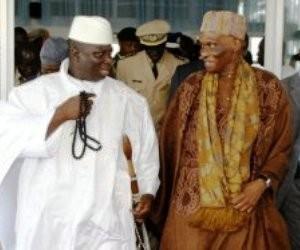 Me Wade à Banjul pour l'investiture de Yayah Jammeh