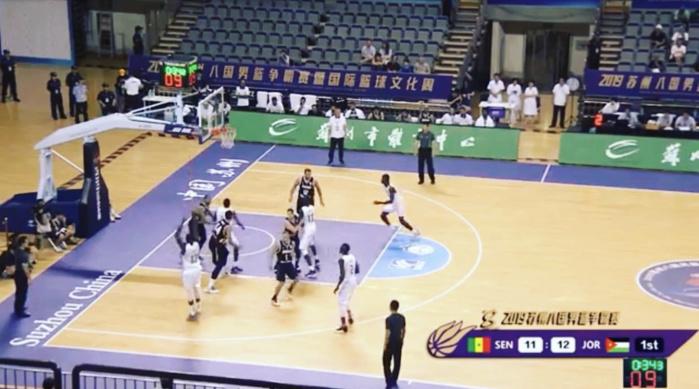 Basket / Tournoi Suzhou (Chine) : Le Sénégal bat la Jordanie 69-64 en match de préparation