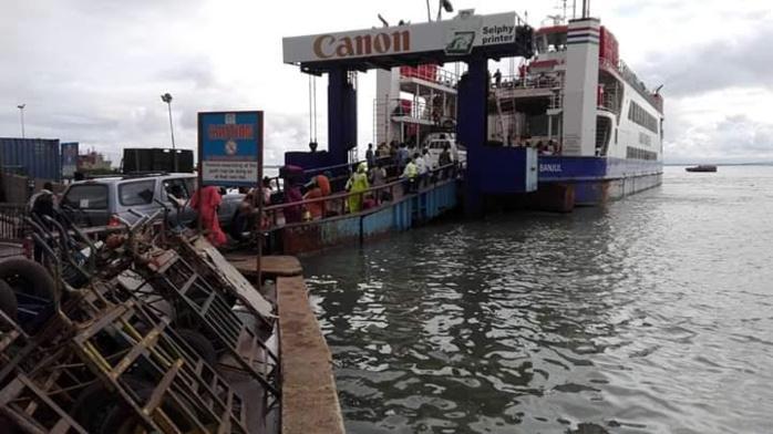 Ferry de Banjul : Un camion échappe à la plongée
