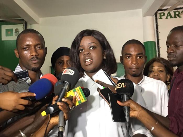 « 900 jours de détention, une dignité sans faille », Gaelle Mbaye (représentante de Khalifa Sall)