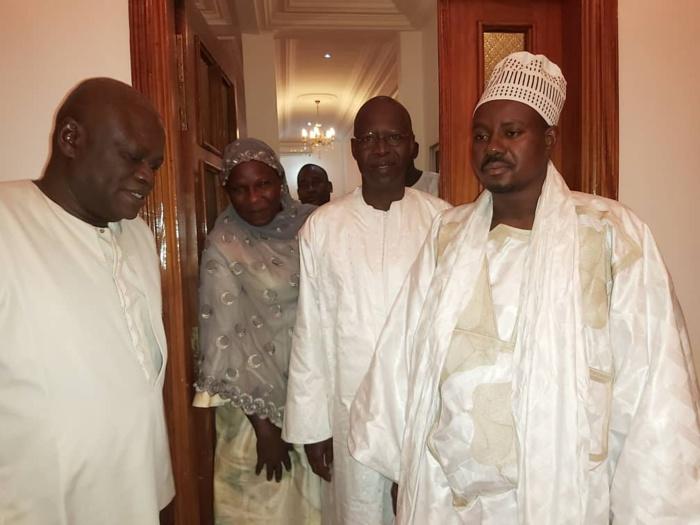 Mouhamed Boun Abdallah Dionne vu chez Serigne Bassirou Mbacké Abdou Khadre  vendredi dans la soirée !