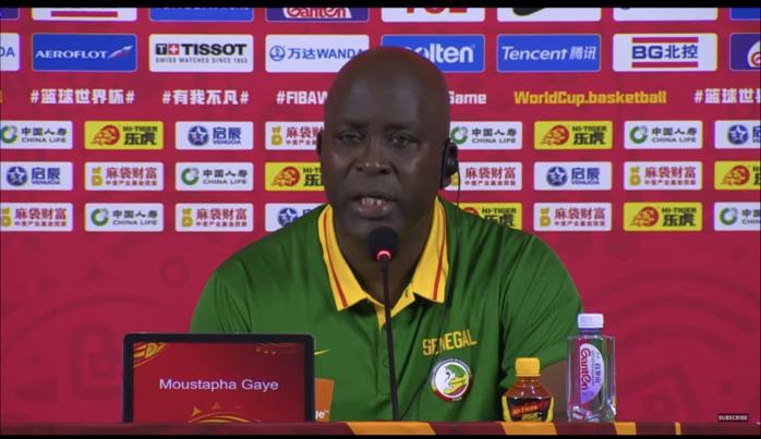 Mondial FIBA Chine 2019 / Moustapha Gaye sur la défaite contre la Lituanie (101-47) : « On a déjoué aujourd'hui »