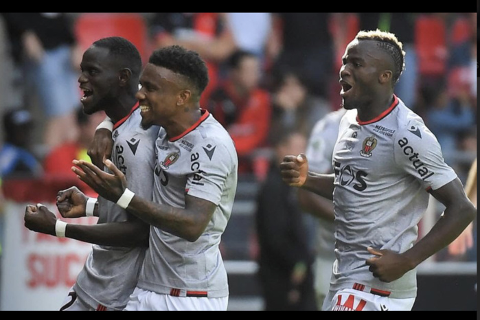 Ligue 1 : Racine Coly donne la victoire à l'OGC Nice contre Rennes (2-1)