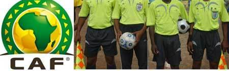 Des arbitres camerounais pour le match Sénégal-Zambie