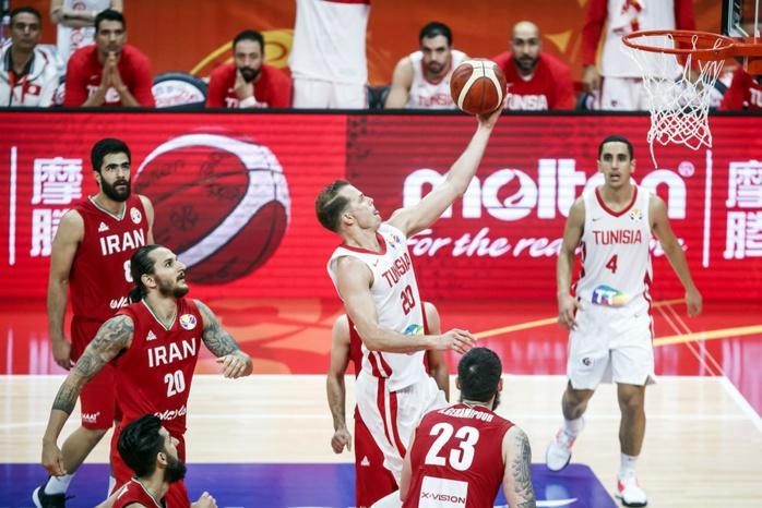 Mondial Basket / Groupe C : La Tunisie décroche sa première victoire contre l'Iran 79-67