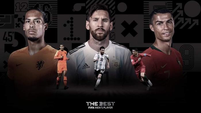 FIFA THE BEST 2019 : Virgil Van Dijk, Lionel Messi et Cristiano Ronaldo les trois nominés, Sadio Mané out !