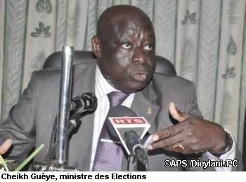 Cinq millions 103 mille 297 électeurs inscrits sur le fichier électoral (ministre)