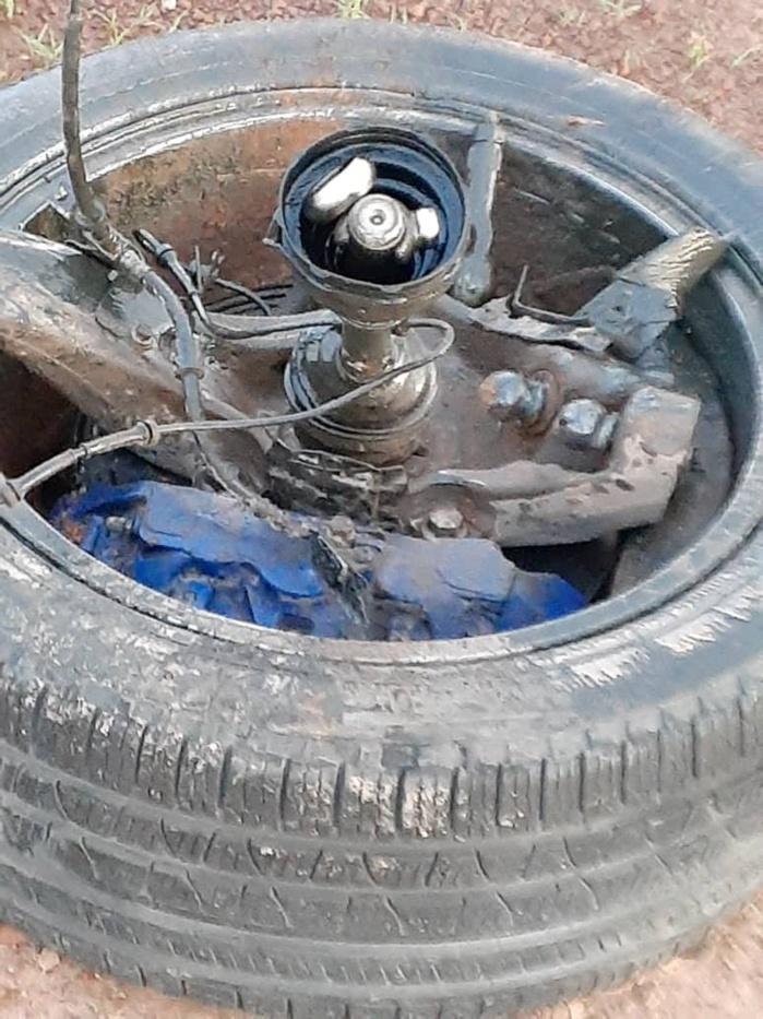 autoroute Ila'a Touba : Les images de l'accident de Cheikh Amar...