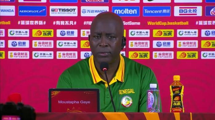 Moustapha Gaye, coach des Lions : « Je suis très content de la réaction de l'équipe aujourd'hui » (Conférence de presse)
