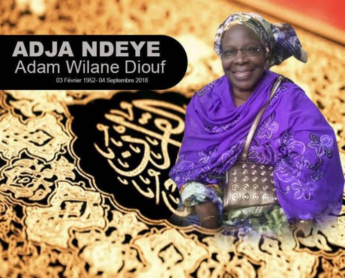Souvenirs : Maman Ndèye Adam Villane Diouf, 1 an déjà, les souvenirs impérissables