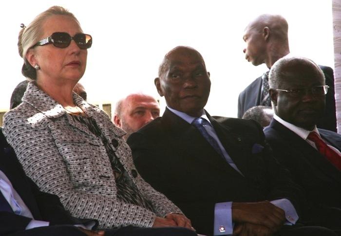 Les échanges salés entre Abdoulaye Wade et Hillary Clinton à Monrovia.