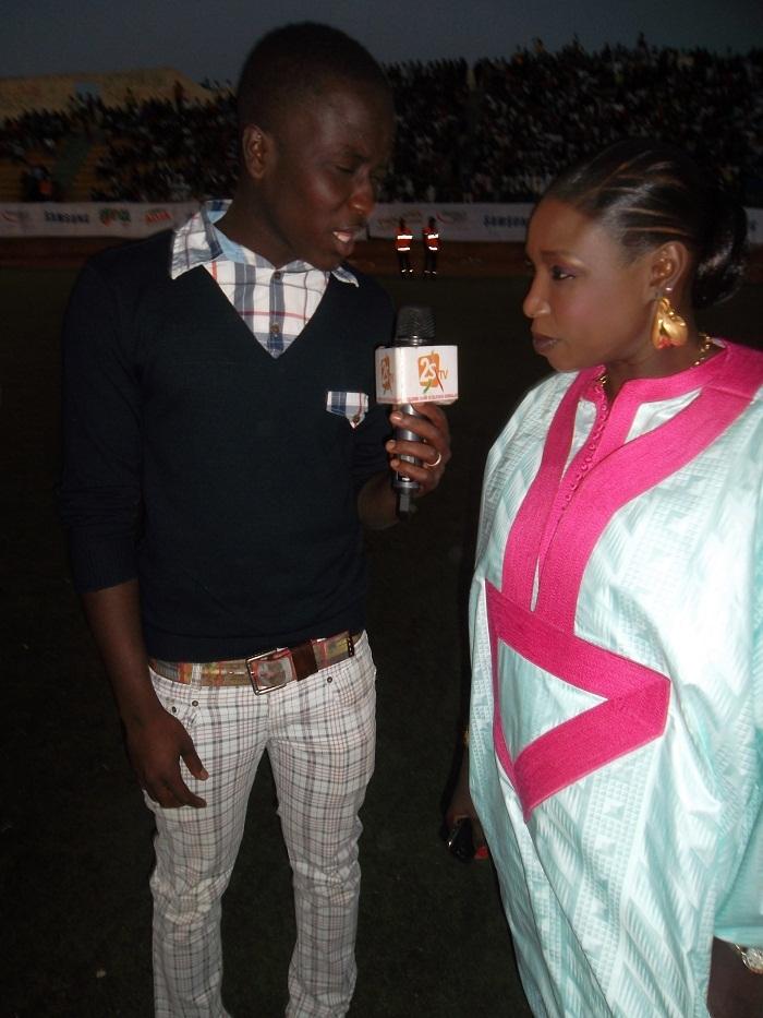 Modou, le fils de Bécaye Mbaye, graine d'animateur