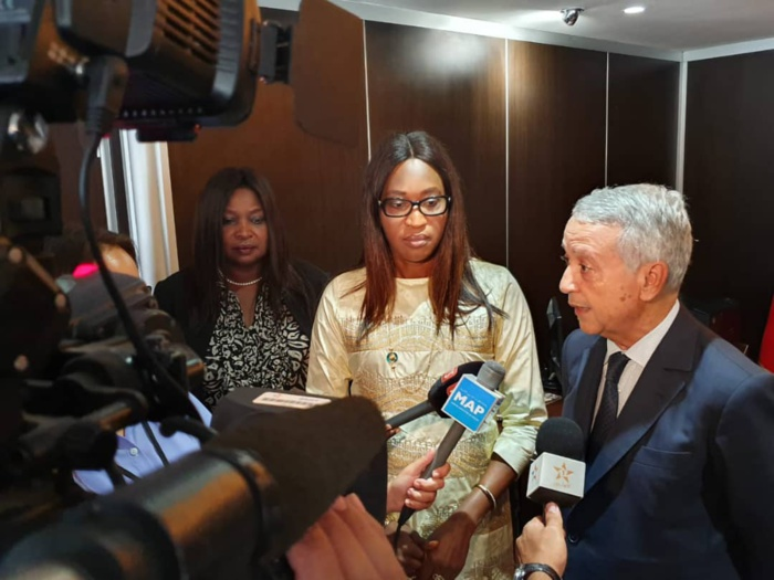 Visite officielle de Mme le Ministre de la Microfinance et de l'Economie sociale et solidaire au Maroc